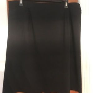 Women's black skirt